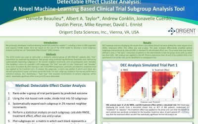 Poster: Detectable Effect Cluster Analysis: A Novel Machine Learning Based Clinical Trial Subgroup Analysis Tool