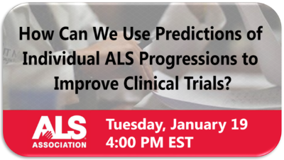 Origent's CSO Dr. David Ennist Presents Webinar to ALS Association