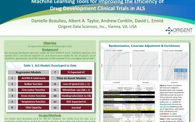 Poster: Machine Learning Models for the Assessment of Potential ALS Biomarkers