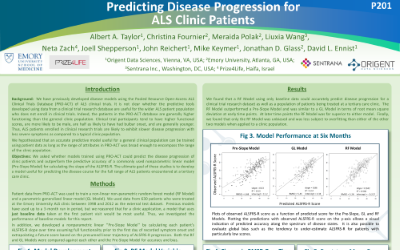 Poster: Predicting Disease Progression for ALS Clinic Patients