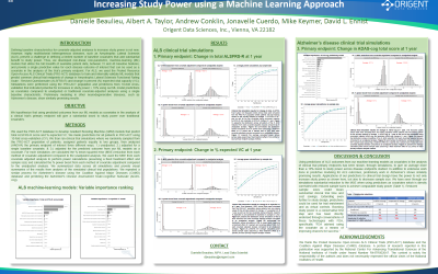 Poster: Increasing Study Power using a Machine Learning Approach
